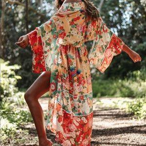 Delilah Patchwork Kimono
